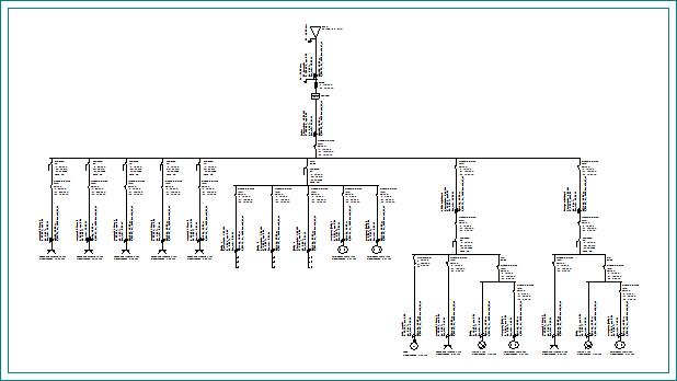 CYPELEC Core. Instalaciones eléctricas de baja tensión. Planos